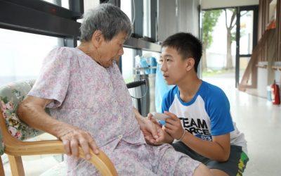 中市府推動老人福利機構生活創新品質方案 協助長輩自主生活。(記者劉秝娟翻攝)
