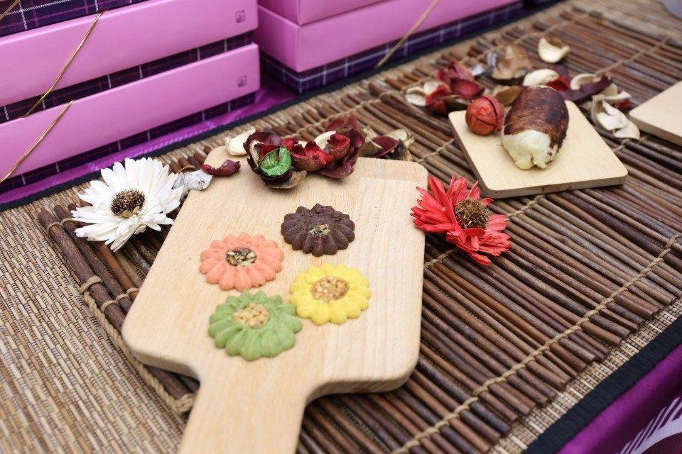 太陽餅文化節20日文心森林公園熱鬧登場。(記者白信東翻攝)