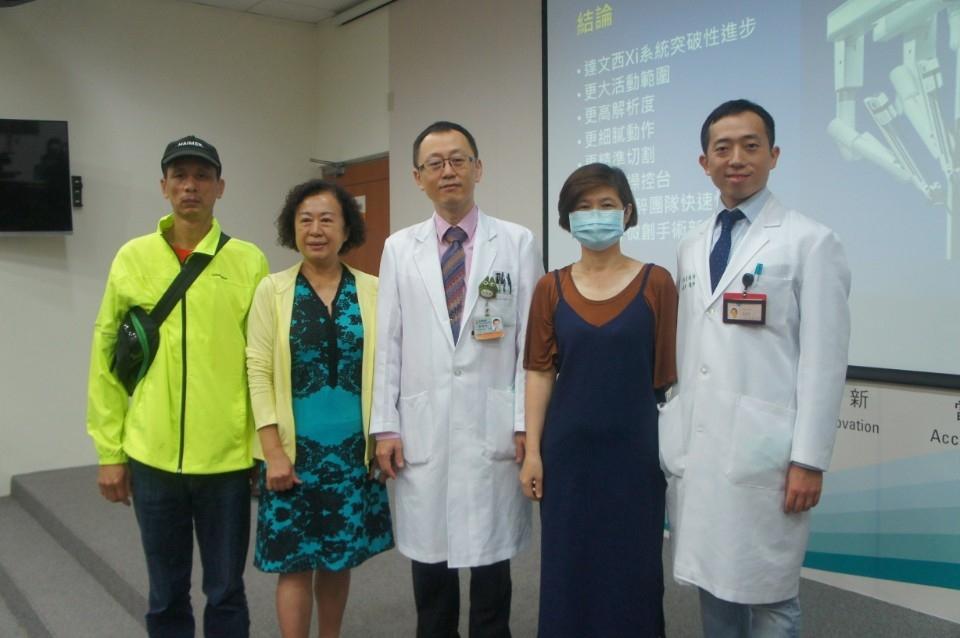 中榮大腸直腸外科設立治療新標竿。(記者林志強翻攝)