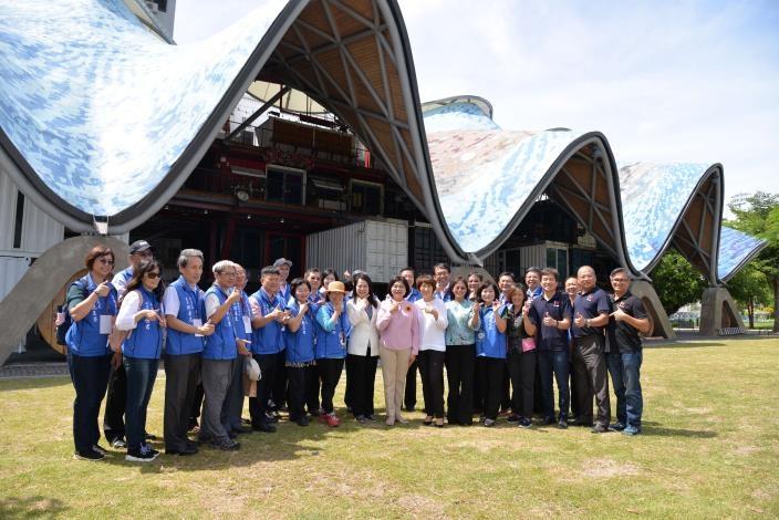 張麗善縣長率團參訪台東 促進縣際合作與互惠旅遊。(記者張達雄攝影)