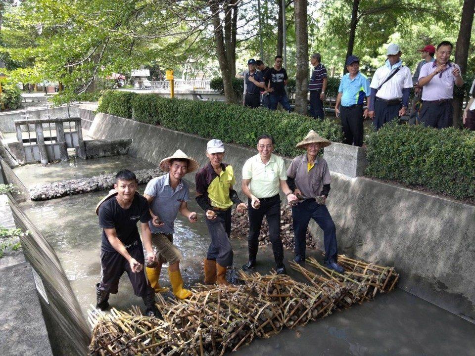 雲林農田水利會於農田水利環境教育園區舉辦。(記者張達雄攝影)
