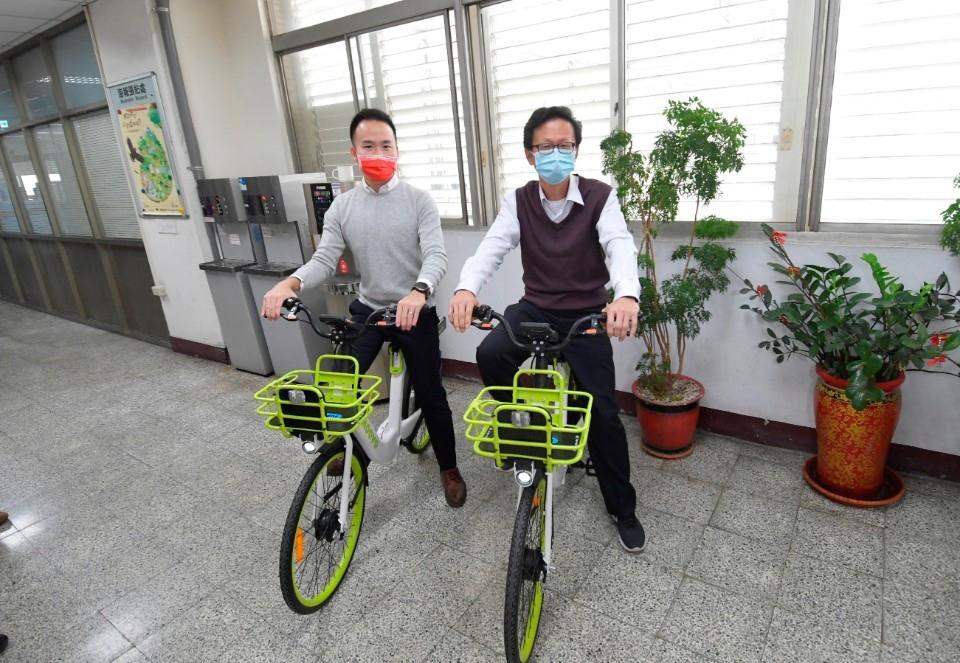 迎接綠色觀光 彰化縣公共自行車全面更新升級。(記者游樂華翻攝).jpg