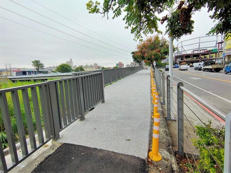 旱溪自行車道全數改善完成 騎乘安全再升級。(記者游樂華翻攝).jpg