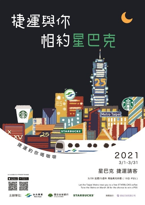 想要PS5嗎? 328臺北捷運25週年好康送給你!3月慶生大放送。(特約記者林有定翻攝).jpg