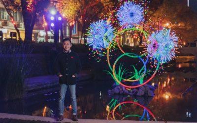 踏青、賞櫻、夜遊都在竹市!市長林智堅公開闔家春遊三路線。(記者張如慧翻攝).jpg