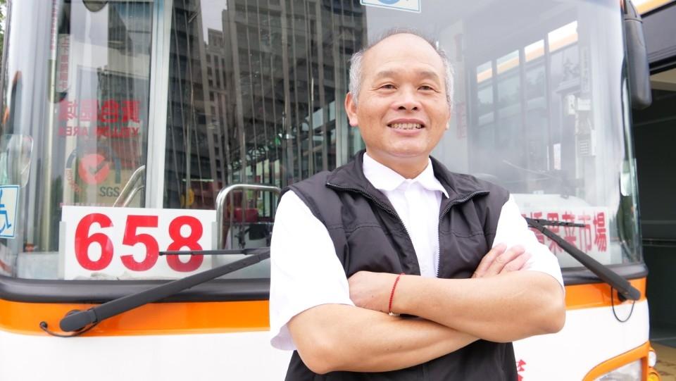 模範公車、計程車駕駛員:將乘客安全送到目的地。(特約記者林有定翻攝).JPG