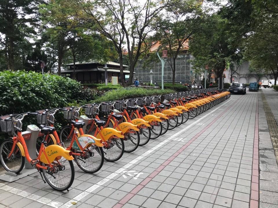 新北公共自行車系統新約決標 Youbike服務不中斷。(特約記者林有定翻攝).jpg